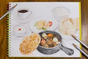 美麗華風 十勝和牛のパイ包み焼きシチューブログ用