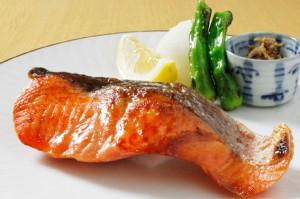 銀鮭西京焼き