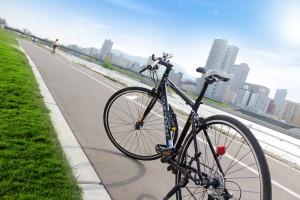 豊平川サイクリングロード2