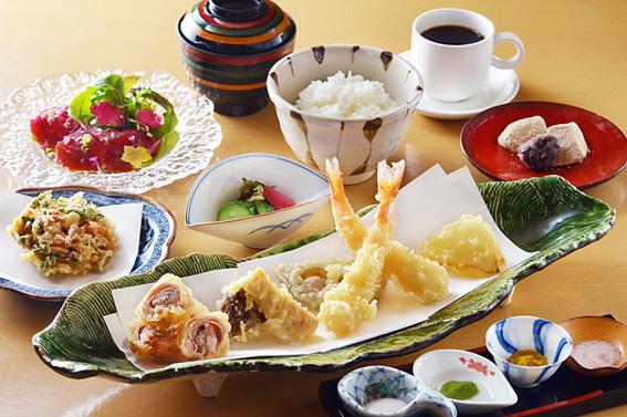 【 平 日 限 定 】 牛肉と海老の揚げたて天ぷらコース
