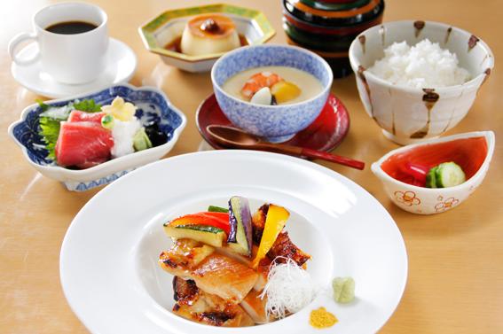知床鶏西京焼き定食