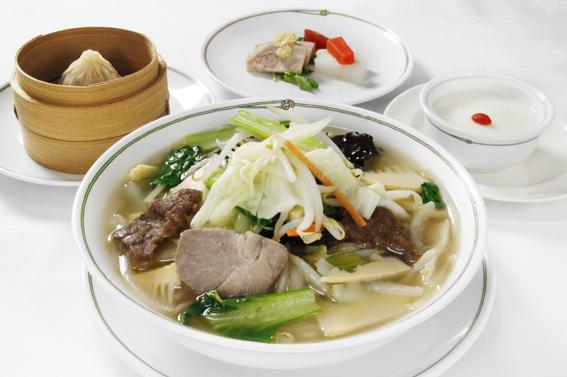 【期間限定ランチ】十勝産和牛とたっぷり野菜のタンメンセット