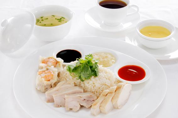 【期間限定ランチ】美麗華 鶏飯セット