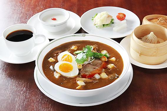 【期間限定ランチ】美麗華風 加哩刀削麺セット