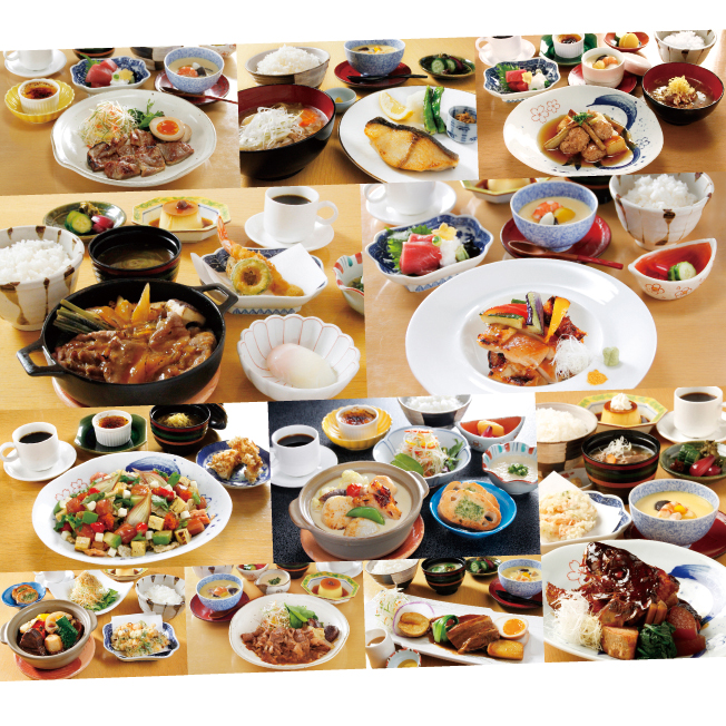 花城 こだわり定食スタンプキャンペーン