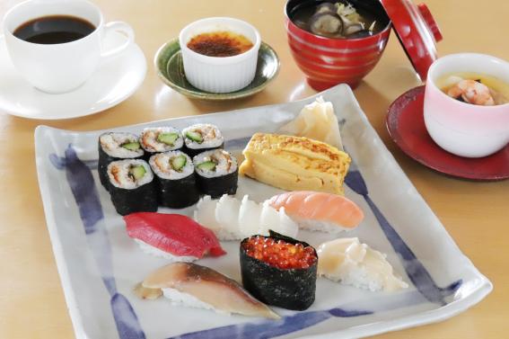 握り寿司膳 上