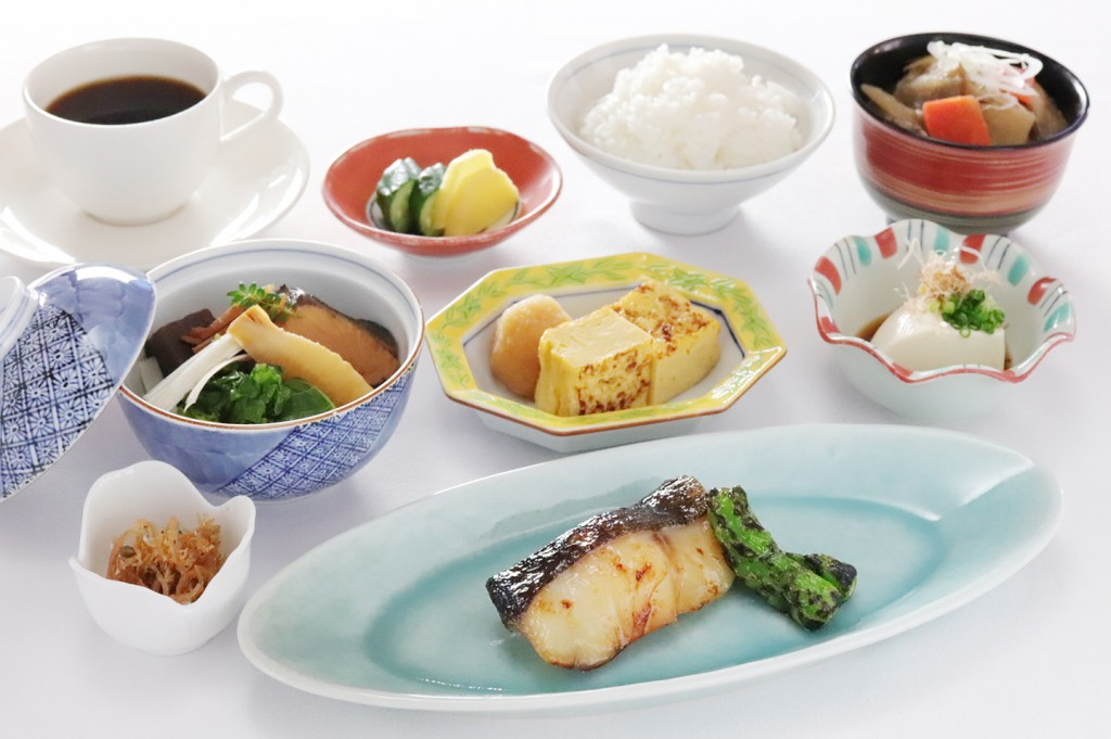 朝食 定食メニュー [日本料理 花城]和定食